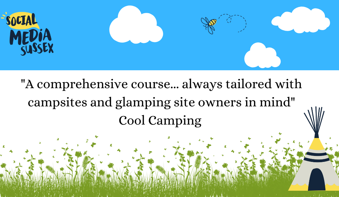 Social media for campsites and glampsites